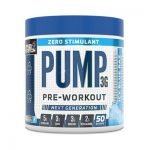 applied nutrition pump 3g zero stimulant pre workout
