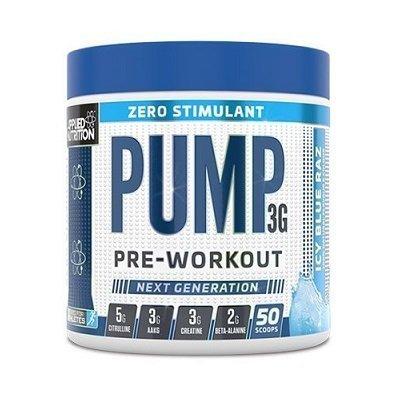 applied nutrition pump 3g zero stimulant pre workout