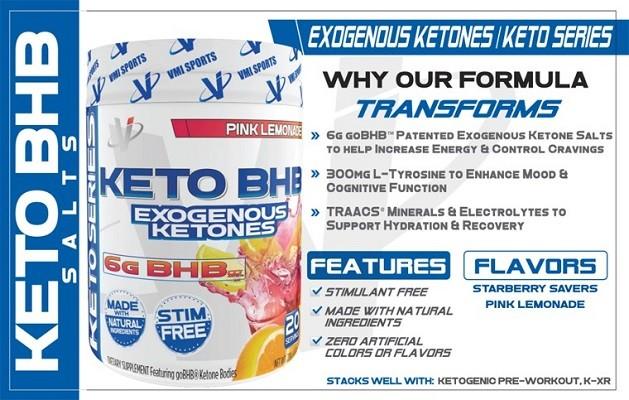 VMI Sports Keto BHB Keytones